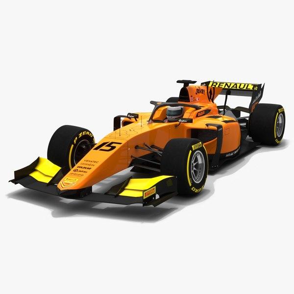 3D campos racing 15 f2 model