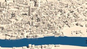 block london swiss 3D model