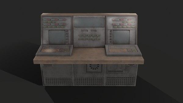 electric panel 3D model