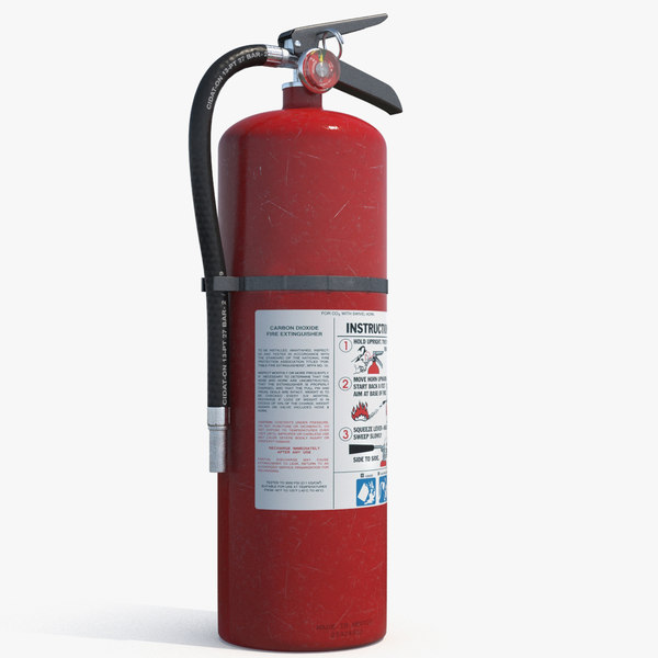 extinguisher modeled pbr 3D model