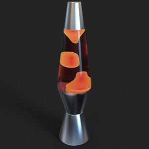 lava lamp 3D