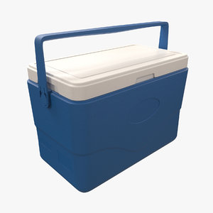 3D cooling box model