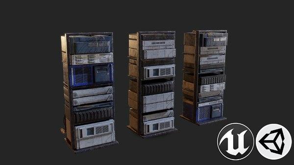 old pbr 3D model