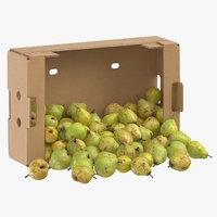 cardboard box 02 taylors 3D model
