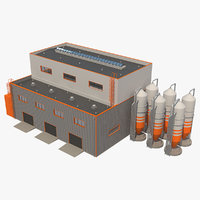 industrial building model