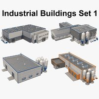 Industrial Building Set_01