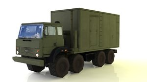ural-5323 ural 3D model