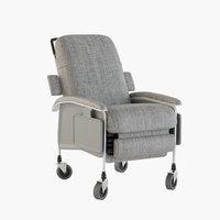 recliner healthcare chair 3D model