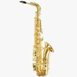 saxophone sax 3D