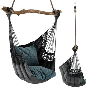 hanging hammock chair 3D model