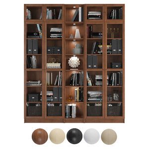 billy oxberg bookcase 3D
