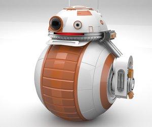 3D model starwars bb-8 droid concept