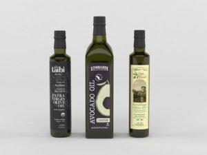 olive oil 3D model