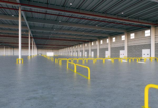 warehouse modo model