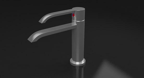 3D model water tap 1