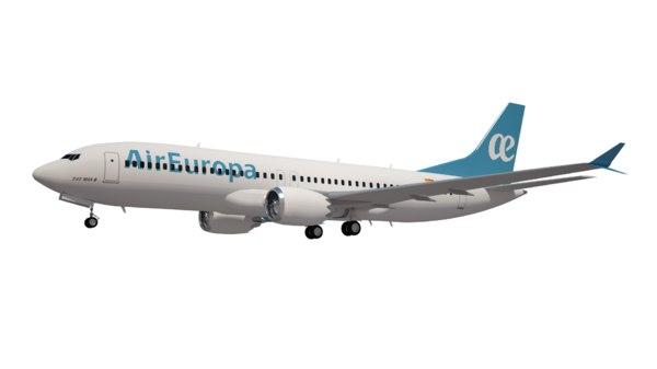 air europa boeing 737 3D model
