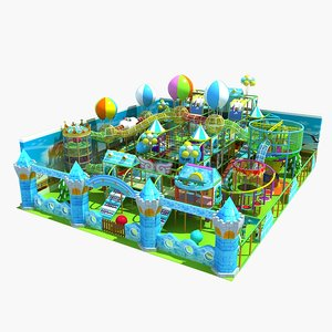3D playground play ground model