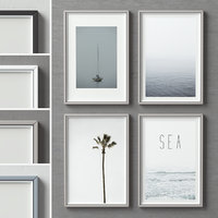3D picture frames set -91 model