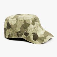 3D military hat model