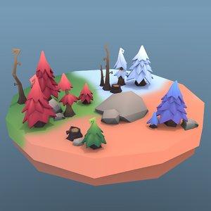 tree package 3D model