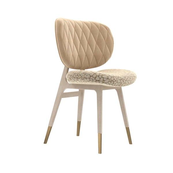 3D chair legs beige