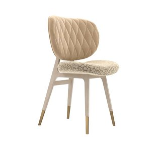 3D chair legs beige