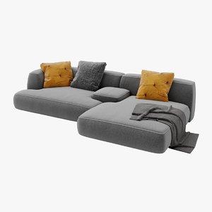 3D lema cloud sofa -