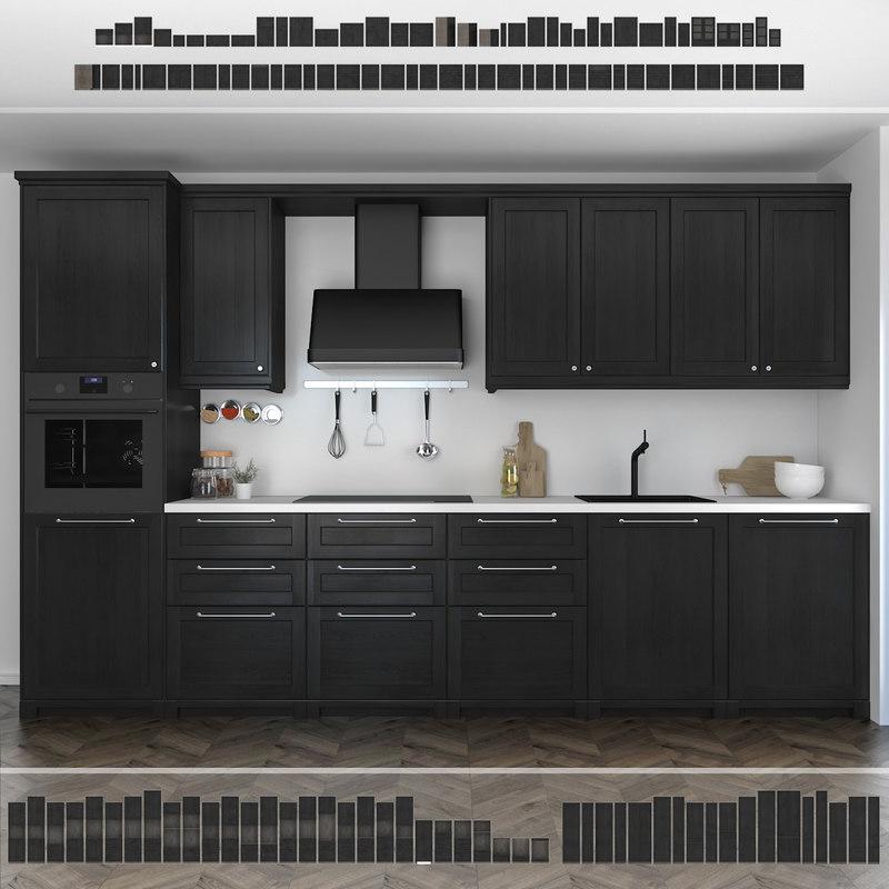 Ikea Kitchen Design Software Free: TurboSquid 1294509