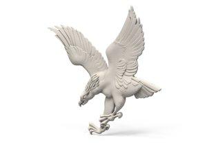 3D decor eagle