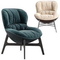 softy armchair 3D