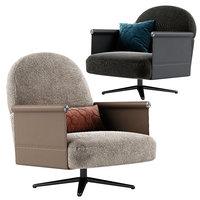 3D beyl armchair seat