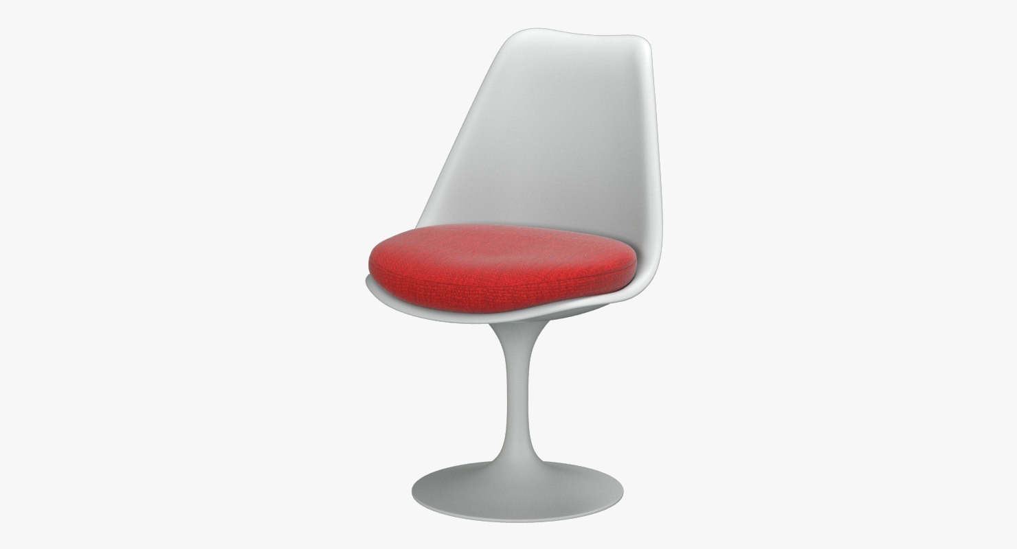 knoll saarinen tulip chair 3D model