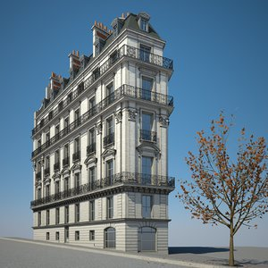 3D urban building