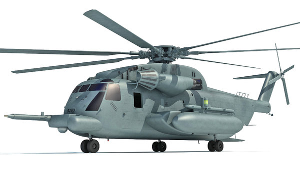 sikorsky ch-53e super stallion 3d 3ds