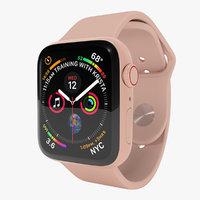 3D model apple watch 4 series