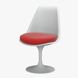 knoll saarinen tulip chair 3D model