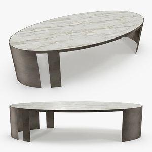 pouenat - passage coffee table 3D