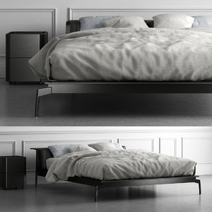 3D cassina l41 sled bed