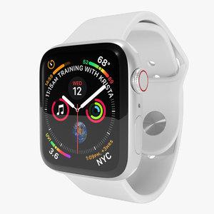 apple watch 4 series 3D