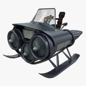 3dsmax transporter parts racers