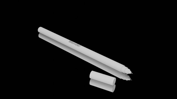 stylus pen simple 3D