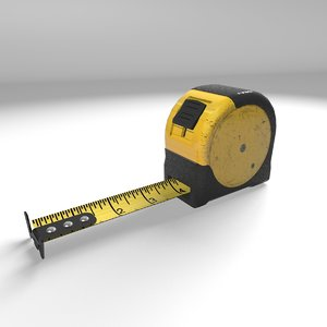 tape measurer extendable 3D model