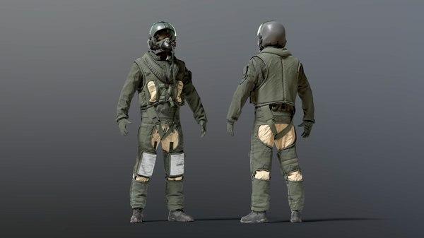 90s fighter pilot flight 3D