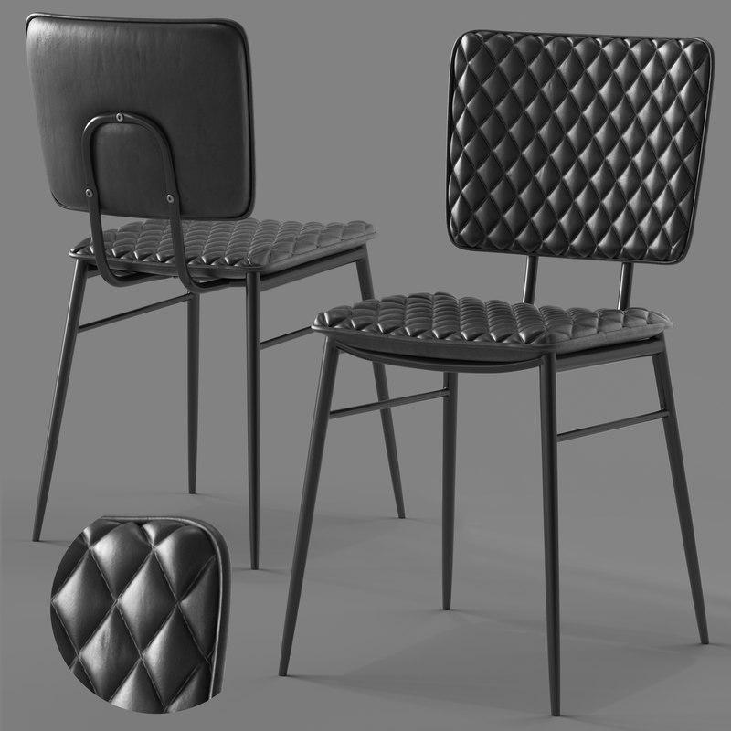 3D cult furniture elgin chair seat