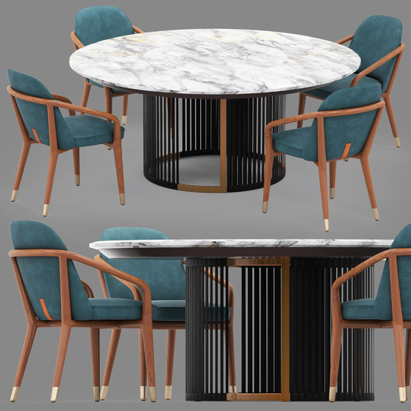 3D ulivi claire table lise model