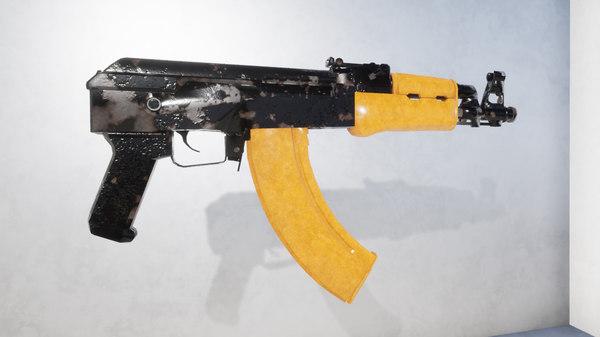 3D ak aks-74u model