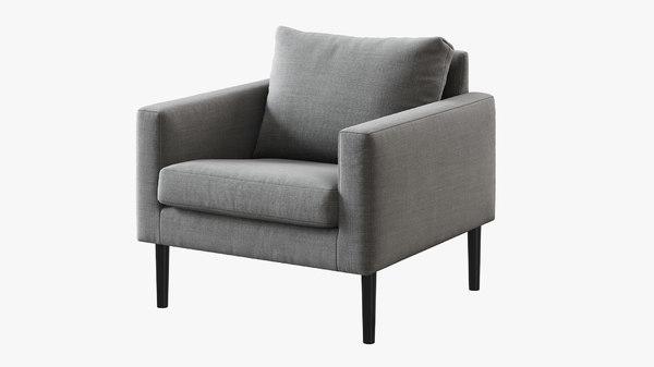 ikea friheten armchair 3D model