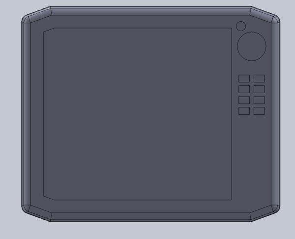 1 7 gps screen 3D model