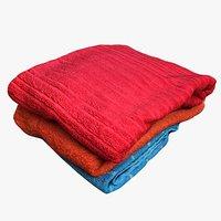 3D model pile towels