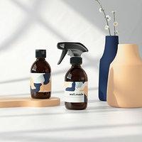 Spray Bottle and fliptop 250ml 3D model
